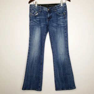Re Rock for Express Faded Front Boot Cut Jeans 6S